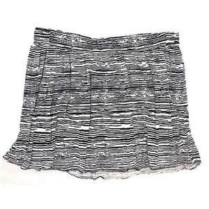 LANE BRYANT 20 Zebra Stretch Circle Skirt